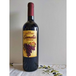 Vino rosso demi-sec Semelis